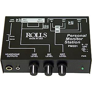 Rolls PM351 Personal Monitor Station for Musicians,90dB: Picture 1 regular