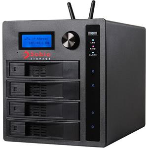 Sabio Storage CM404 8TB NAS Device, SATA II, USB2.0: Picture 1 regular