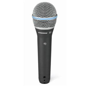 Samson Q8 Super-Cardioid Dynamic Microphone: Picture 1 regular