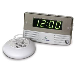 Sonic Alert Beside/Travel Alarm Clock SB200SS