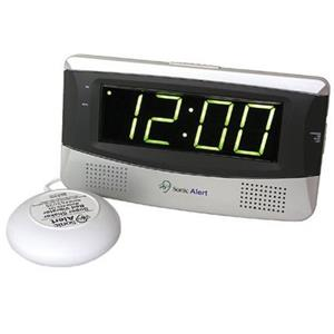 Sonic Alert Large Display Alarm Clock SB300SS