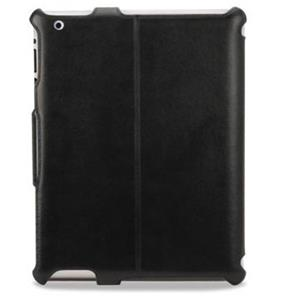 Scosche IPD2FLBK Leather Folio Case for iPad 2, Black: Picture 1 regular