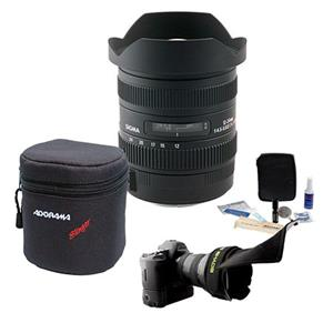 Sigma 12-24mm f/4.5-5.6 II DG HSM Autofocus Super Wide-Angle Zoom Lens KIT-101 A