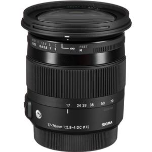 Sigma New 17-70mm f/2.8-4 DC Macro HSM Lens
