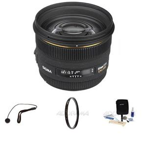 Sigma 50mm f/1.4 EX DG HSM Auto Focus Lens Kit 310-205