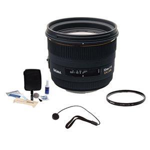 Sigma 50mm f/1.4 EX DG HSM Auto Focus Lens Kit 310-306