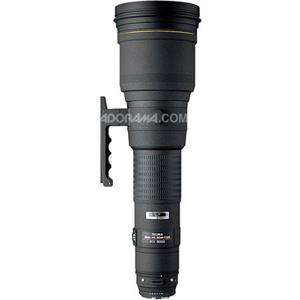 Sigma 800mm f/5.6 EX APO DG HSM Auto Focus Super Telephoto Lens 152306