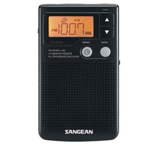 Sangean FM-Stereo/AM Digital Tuning Pocket Receiver DT-200X