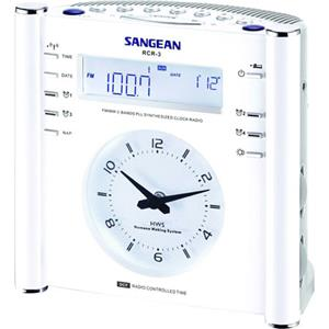 Sangean FM/AM PLL Synthesized Tuning Clock Radio RCR-3