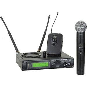 Shure ULXP124/85-J1 Wireless Dual Mixed Microphone System ULXP124/85-J1