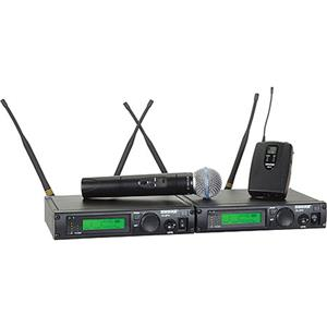 Shure ULXP124/BETA58-J1 Wireless Dual Mixed Microphone System: Picture 1 regular