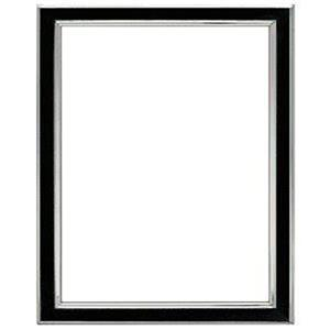 "Tizo Design Siena Narrow Enamel Collection 5x7"" Frame 5120BLK-57"