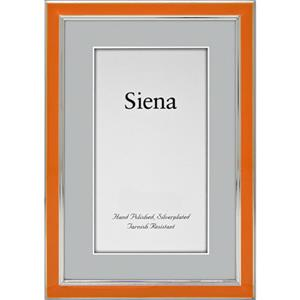"Tizo Design Siena Narrow Enamel Collection 5x7"" Frame 5120ORA-57"
