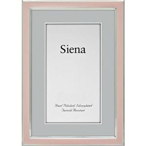"Tizo Design Siena Narrow Enamel Collection 5x7"" Frame 5120PNK-57"