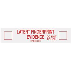 Sirchie Latent Fingerprint Evidence Tape 905ED