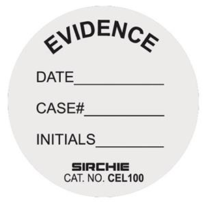 Sirchie Circular Evidence Labels