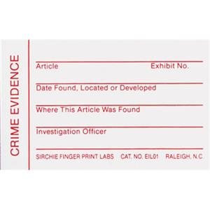 Sirchie Evidence Identification Labels EIL01