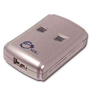 SIIG JU-SW2112-S2 USB 2.0 Switch 2-to-1 JUSW2112S2