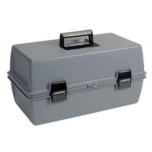 Sirchie Gray Plastic Utility Case with Foam, 16-3/8x8-5/8x7