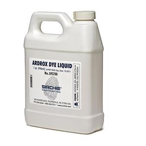 Sirchie Ardrox Fluorescent Liquid Dye Concentrate