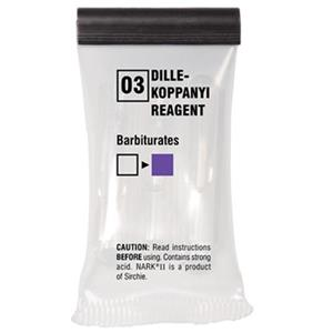 Sirchie NARK II Dille-Koppanyi Reagent, Barbiturates, 10 Tests: Picture 1 regular