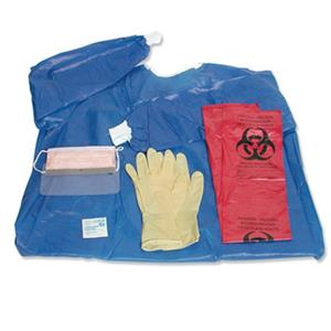 Sirchie Personal Protection Kit with XX-Large Gown: Picture 1 regular