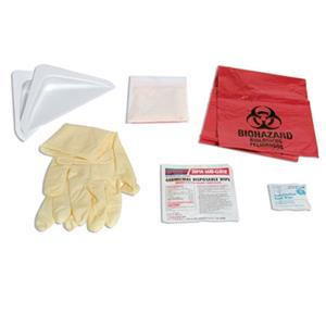 Sirchie Biohazard Personal Protection Cleanup Kit PPP300