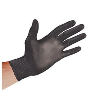 Sirchie Black Powder-Free Nitrile Gloves SF0081L