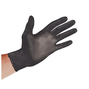 Sirchie Black Powder-Free Nitrile Gloves SF0081XL