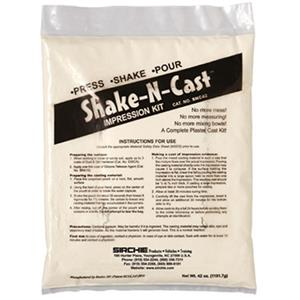 Sirchie Shake-N-Cast Impression Kit SNC42