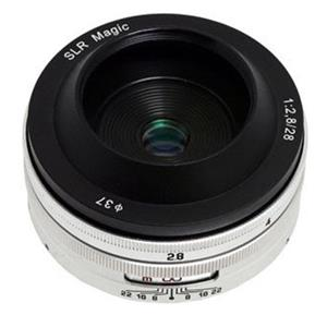 SLR Magic 28mm f/2.8 Lens with 1:1 for for Sony E-mount NEX Series Cameras
