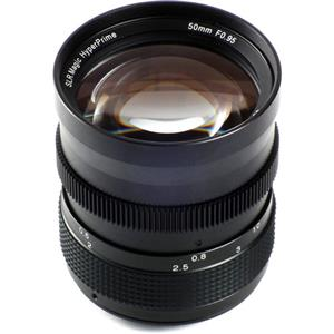 SLR Magic 50mm f/0.95 HyperPrime Lens for Sony E-mount NEX Series Cameras