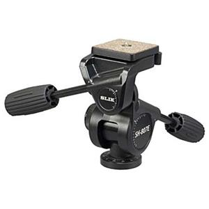 Slik SH-807E Heavy-Duty 3-Way Pan Tripod Head 618807