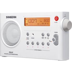 Sangean FM/AM Compact Digital Tuning Portable Receiver PR-D7
