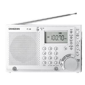 Sangean Professional FM-Stereo/AM/LW/SW PLL Synthesized World Receiver PT-80
