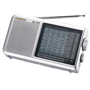 Sangean FM/MW/SW 1-10 World Receiver SG622