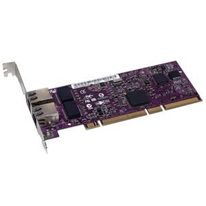 Sonnet Presto Gigabit Ethernet Server 2-Port PCI Card (Supports Jumbo Packets and Link Aggregation) GE1000LA2X