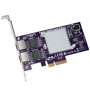 Sonnet Presto Gigabit Server PCIe Ethernet Network Adapter Card: Picture 1 regular