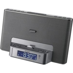 Sony Speaker Dock for iPod and iPhone, Silver: Picture 1 regular