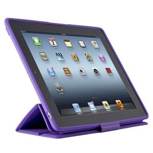 Speck PixelSkin HD Wrap Case for iPad 2, 3 & 4 Grape: Picture 1 regular