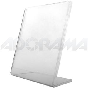 Adorama 1802 Clear Acrylic Frame for 3.5x5 Photo, 3mm: Picture 1 regular