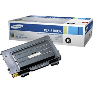 Samsung CLP-510D3K Black Color Laser Toner Cartridge: Picture 1 regular