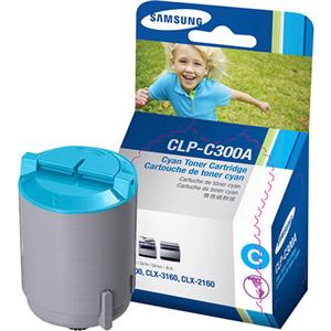 Samsung CLP-C300A Cyan Color Laser Toner Cartridge CLP-C300A