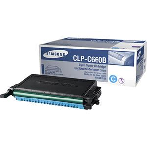 Samsung CLP-C660B Cyan Color Laser Toner Cartridge CLP-C660B