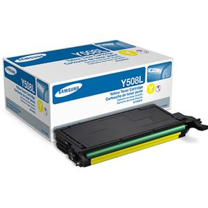 Samsung CLT-Y508L High Yield Yellow Toner Cartridge: Picture 1 regular