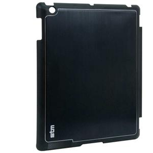 STM Half Shell Case for iPad 2 & 3, Black: Picture 1 regular