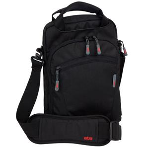 STM Stash iPad shoulder Bag for iPad 1/2, Black: Picture 1 regular