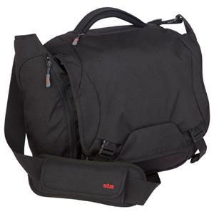STM Velo 13 inch Small Laptop Shoulder Bag, Black: Picture 1 regular