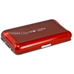 Solair Solar DC Portable Charger 2000mAh/3.8volts, Red: Picture 1 regular