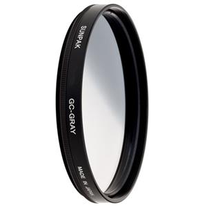Sunpak 55mm Graduated Neutral Density Filter (.06GND) CF7329GD6